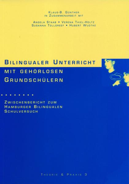 Bilingualer Unterricht mit gehörlosen Grundschülern - Coverbild