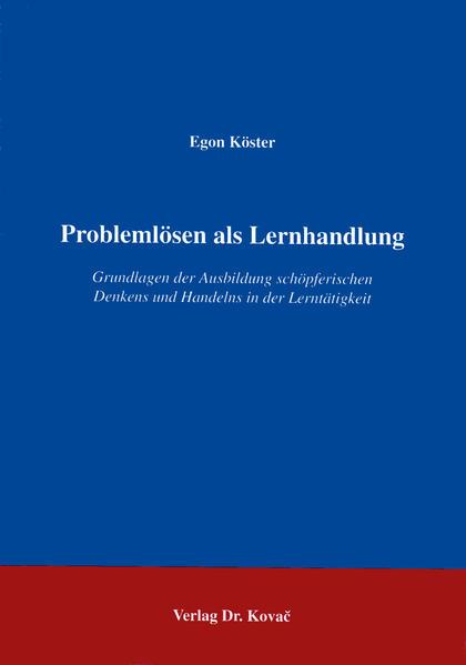 Problemlösen als Lernhandlung - Coverbild