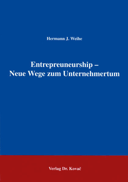 Entrepreuneurship - Neue Wege zum Unternehmertum - Coverbild