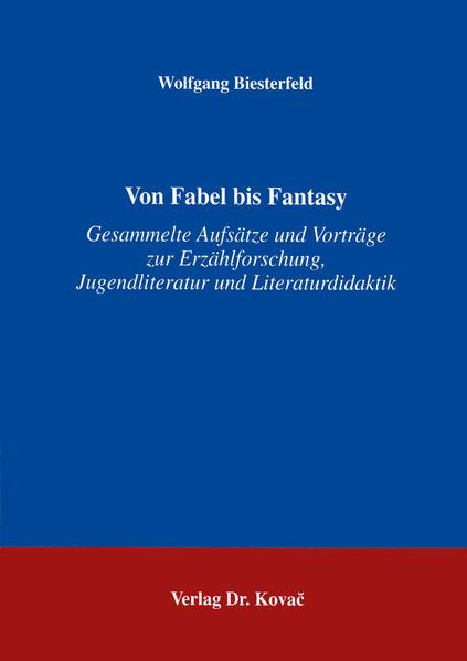 Von Fabel bis Fantasy - Coverbild