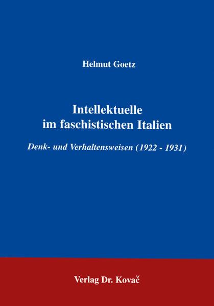 Intellektuelle im faschistischen Italien Laden Sie PDF-Ebooks Herunter