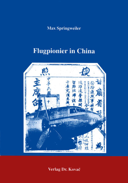 Flugpionier in China - Coverbild