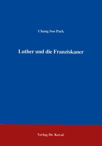 Luther und die Franziskaner - Coverbild