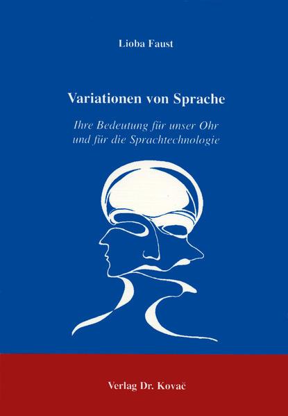 Variationen von Sprache - Coverbild