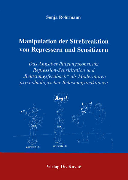 Manipulation der Stressreaktion von Repressern und Sensitizern - Coverbild