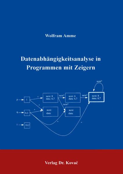 Datenabhängigkeitsanalyse in Programmen mit Zeigern - Coverbild