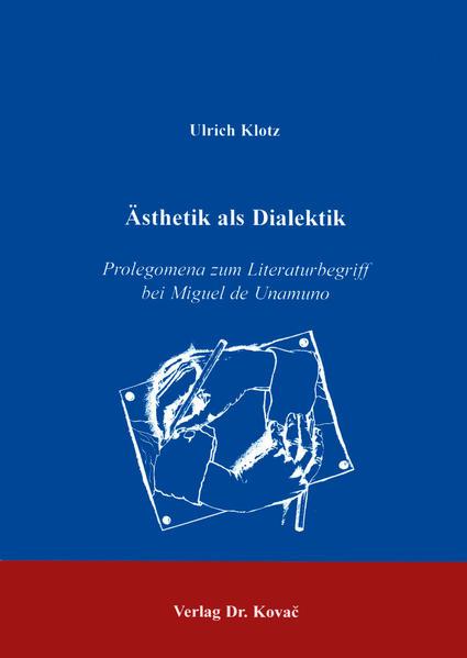 Ästhetik als Dialektik - Coverbild