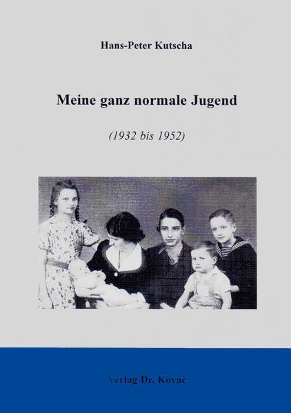 Meine ganz normale Jugend (1932-1952) - Coverbild