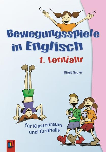 Bewegungsspiele in Englisch - 1. Lernjahr - Coverbild