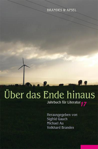Jahrbuch für Literatur / Über das Ende hinaus - Coverbild
