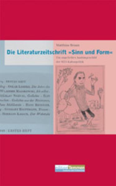 Die Literaturzeitschrift 'Sinn und Form' - Coverbild