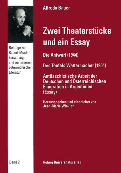 Zwei Theaterstücke und ein Essay - Coverbild