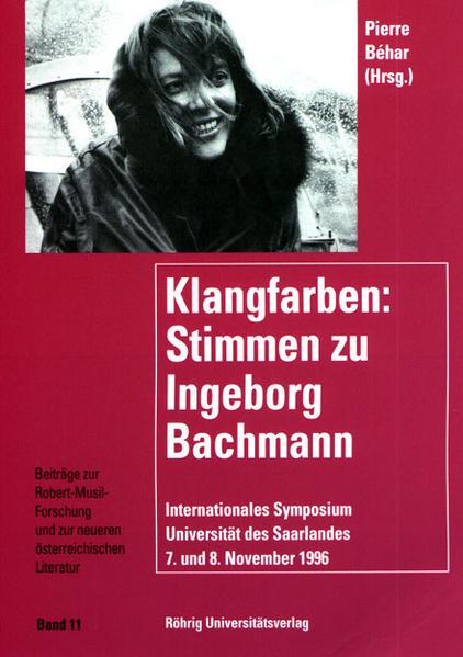 Klangfarben. Stimmen zu Ingeborg Bachmann - Coverbild