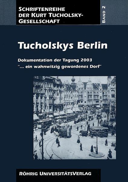 Tucholskys Berlin - Coverbild