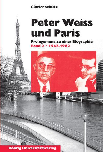 Peter Weiss und Paris - Coverbild