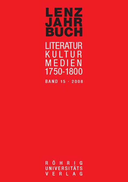 Epub Free Lenz-Jahrbuch 15 Herunterladen