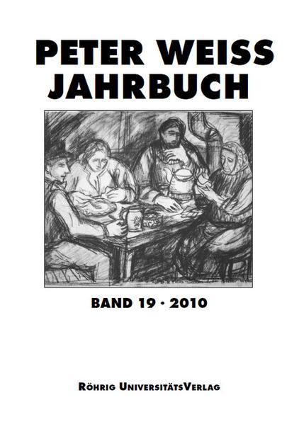 Peter Weiss Jahrbuch 19 (2010) - Coverbild