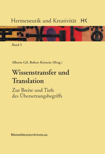 Wissenstransfer und Translation - Coverbild
