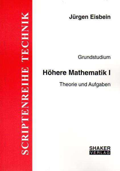Grundstudium Höhere Mathematik / Höhere Mathematik I - Coverbild