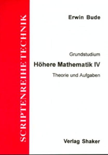 Grundstudium Höhere Mathematik / Höhere Mathematik IV - Coverbild