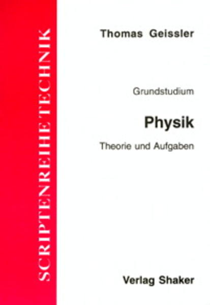 Grundstudium Physik - Coverbild