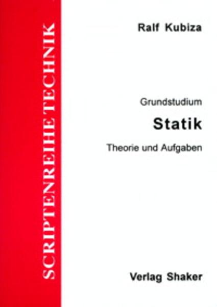 Statik - Coverbild