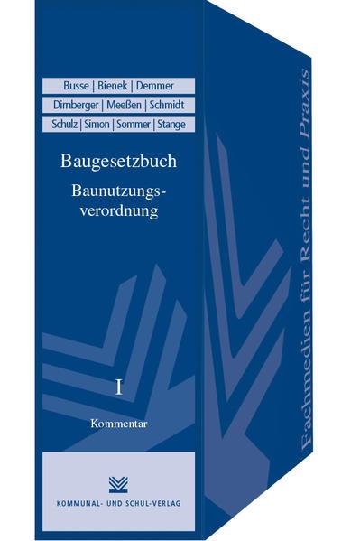 Baugesetzbuch / Baunutzungsverordnung - Coverbild