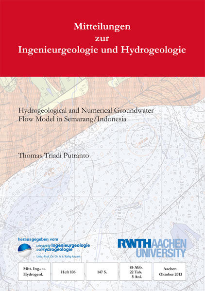 Hydrogeological and Numerical Groundwater Flow Model in Semarang/Indonesia - Coverbild