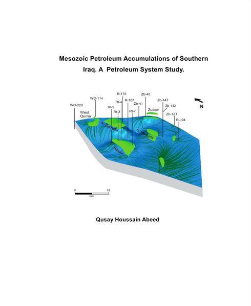 Mesozoic Petroleum Accumulations of Southern Iraq. A Petroleum System Study - Coverbild