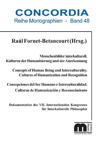 Menschenbilder interkulturell. Kulturen der Humanisierung und Anerkennung - Coverbild