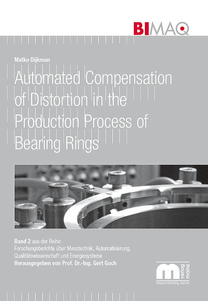 Automated Compensation of Distortion in the Production Process of Bearing Rings - Coverbild