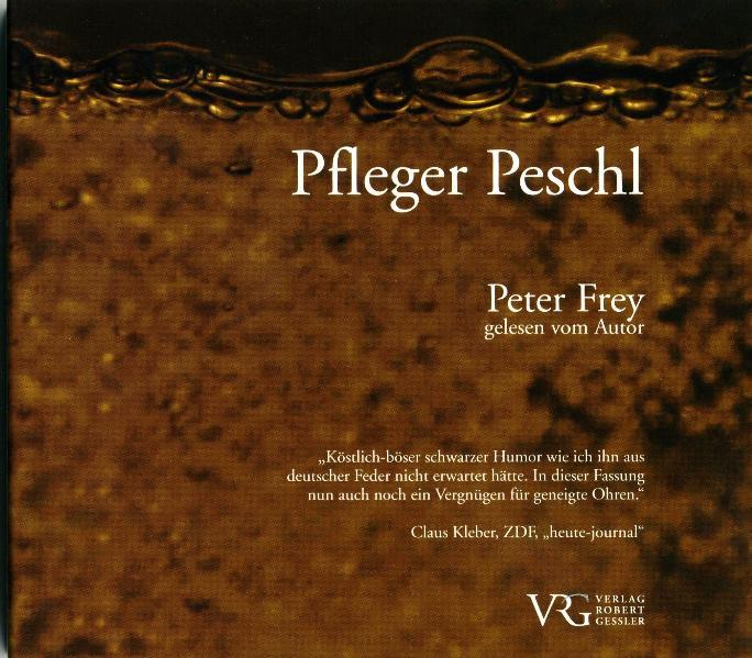 Pfleger Peschl - Coverbild