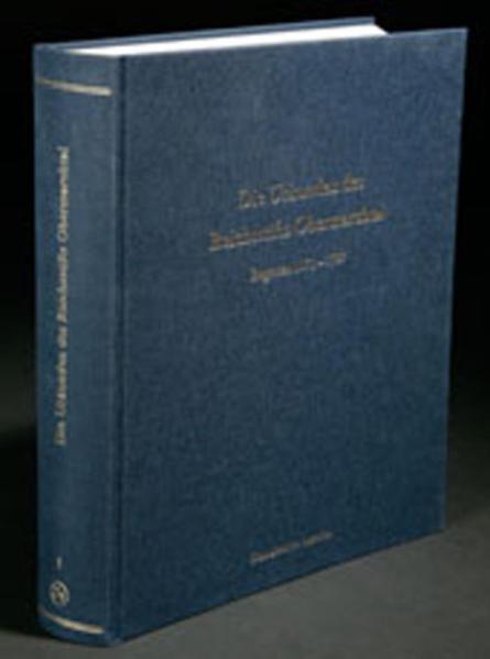 Die Urkunden des Reichsstifts Obermarchtal - Coverbild