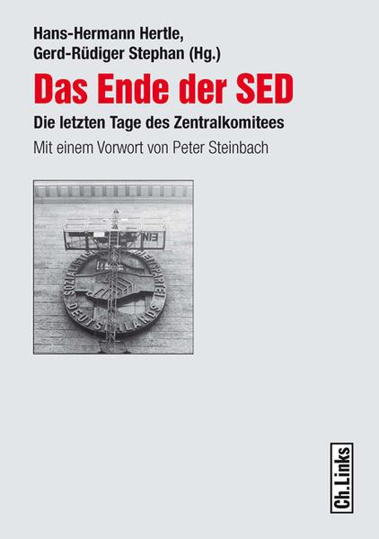 Das Ende der SED - Coverbild