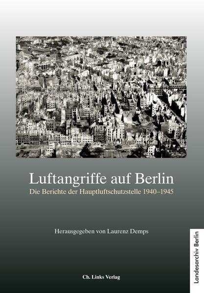 Luftangriffe auf Berlin - Coverbild