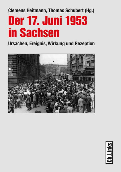 Der 17. Juni 1953 in Sachsen - Coverbild