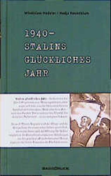 1940. Stalins glückliches Jahr - Coverbild