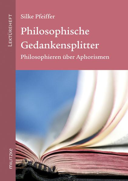 Philosophische Gedankensplitter - Coverbild