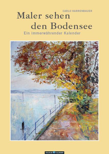 Maler sehen den Bodensee - Coverbild