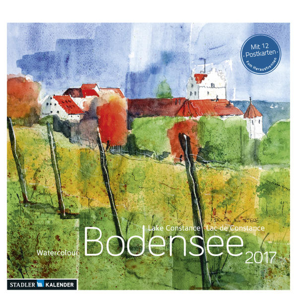Bodensee Aquarell 2017 - Coverbild