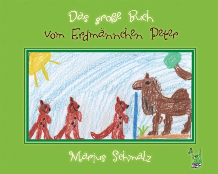 Das große Buch vom Erdmännchen Peter - Coverbild