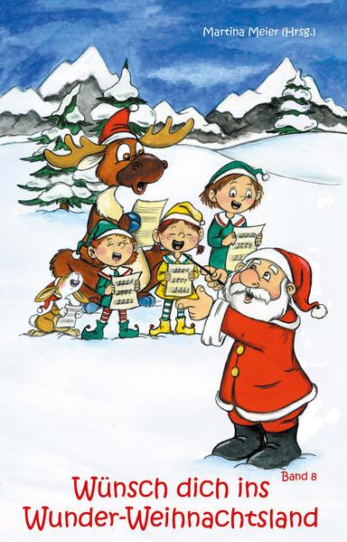 Wünsch dich ins Wunder-Weihnachtsland Band 8 - Coverbild