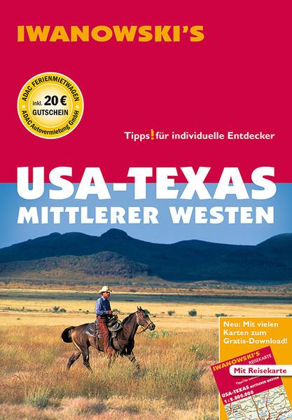USA - Texas & Mittlerer Westen - Reiseführer von Iwanowski - Coverbild