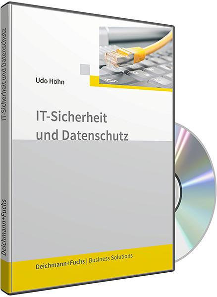 CD-ROM IT-Sicherheit und Datenschutz - Coverbild