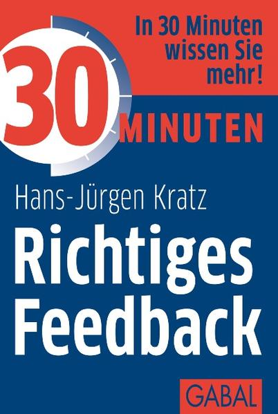 30 Minuten Richtiges Feedback - Coverbild