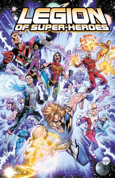 Legion of Super-Heroes - Coverbild