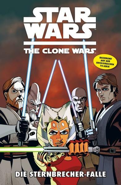Star Wars: The Clone Wars (zur TV-Serie) - Coverbild