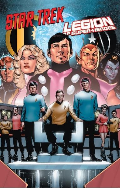 Star Trek vs. Legion of Super-Heroes - Coverbild