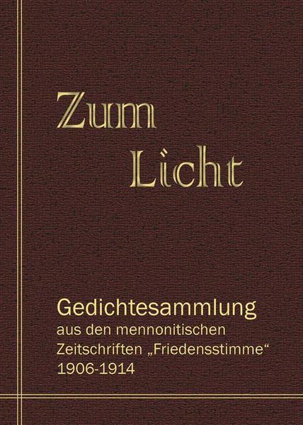 Zum Licht - Coverbild