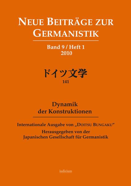 Dynamik der Konstruktionen. 2010 - Coverbild
